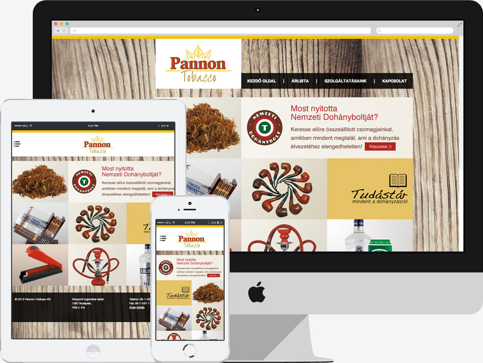 Story  PannonTobacco Ltd. is one of the leading tobacco and accesories  supplier in Hungary. 7211750079